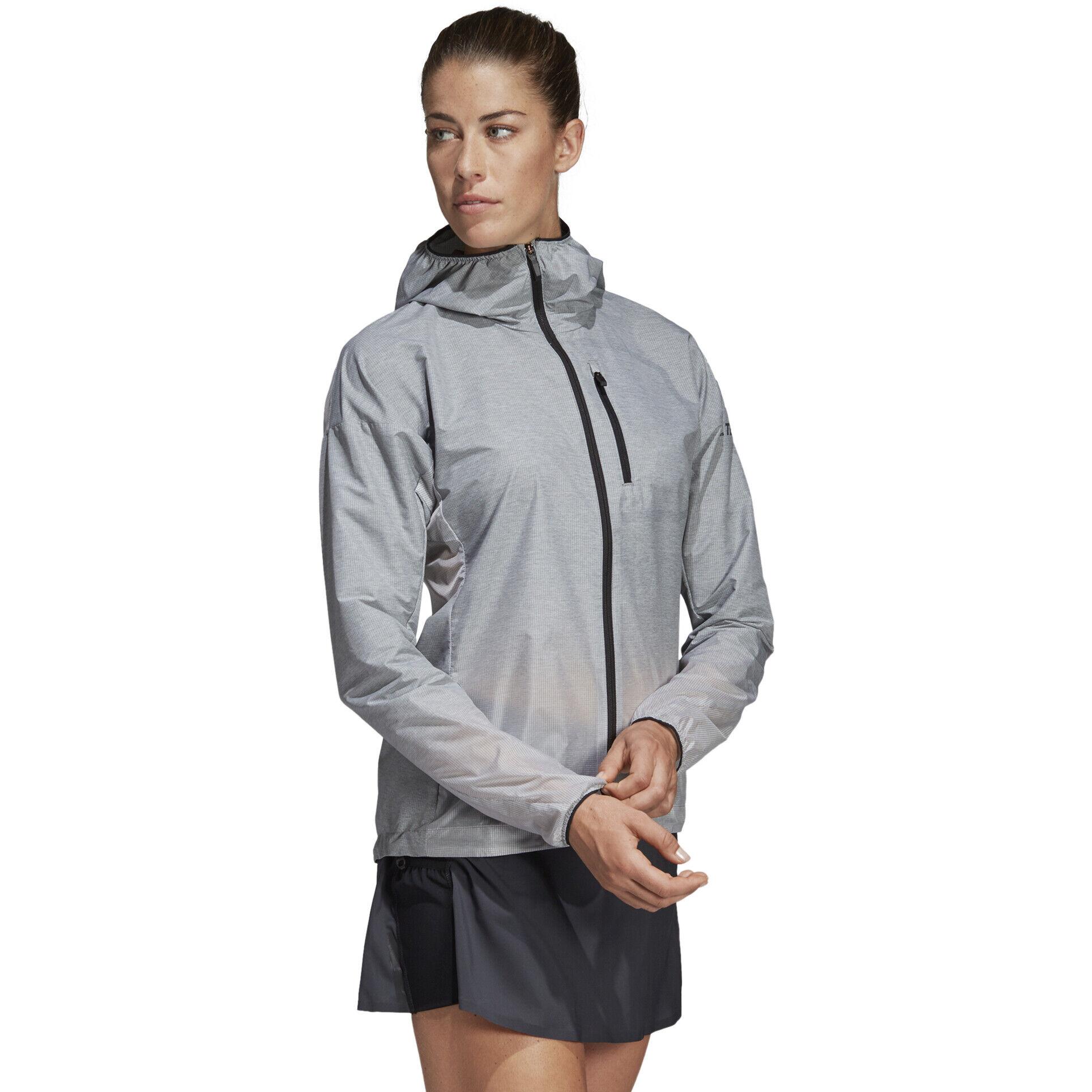 adidas TERREX Agravic Windweave Jacke Damen grey threewhite