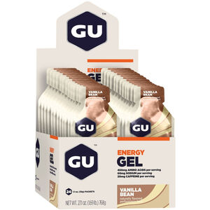 GU Energy Gel Box 24x32g Vanilla Bean