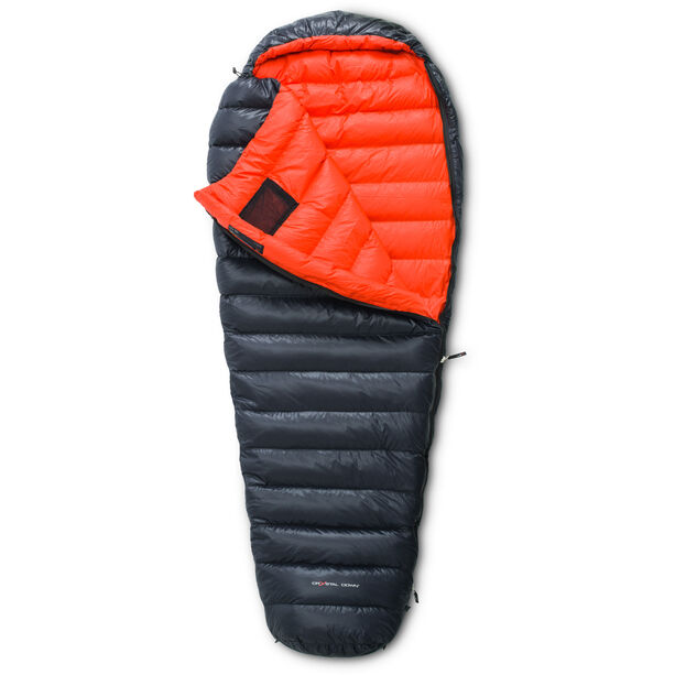 Yeti V.I.B. 250 Schlafsack L, Zip L black/red