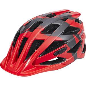 UVEX I-VO CC Helmet red-darksilver mat bei fahrrad.de Online