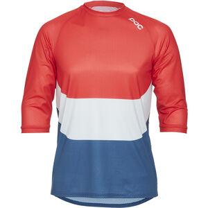 POC Essential Enduro 3/4 Light Jersey Men prismane multi red bei fahrrad.de Online