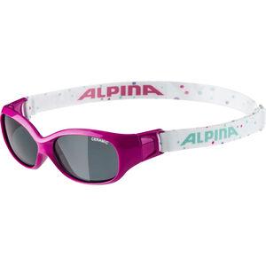 Alpina Sports Flexxy Glasses Kids pink-dots bei fahrrad.de Online