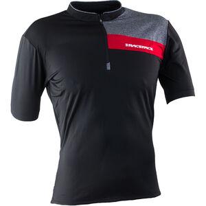 Race Face Podium SS Jersey Herren black/red black/red
