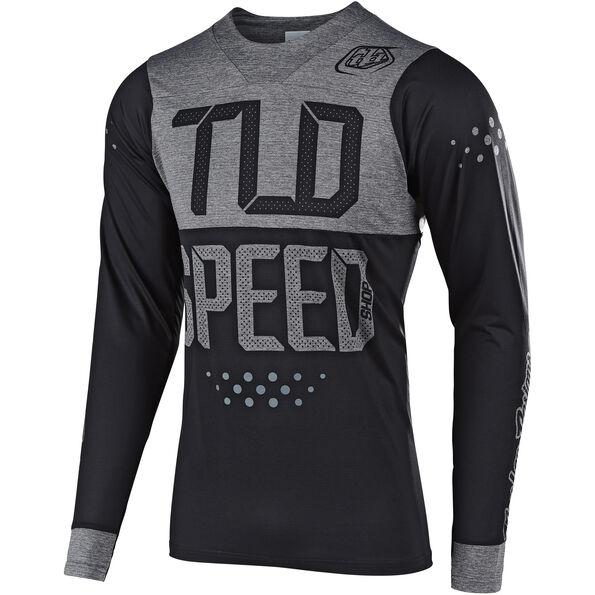 Troy Lee Designs Skyline LS Jersey Herren speedshop/black/heather gray