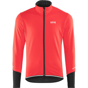 GORE WEAR C5 Windstopper Thermo Jacket Men red/black
