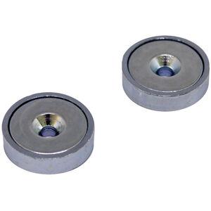 magped M200 Neodym Magnete silber