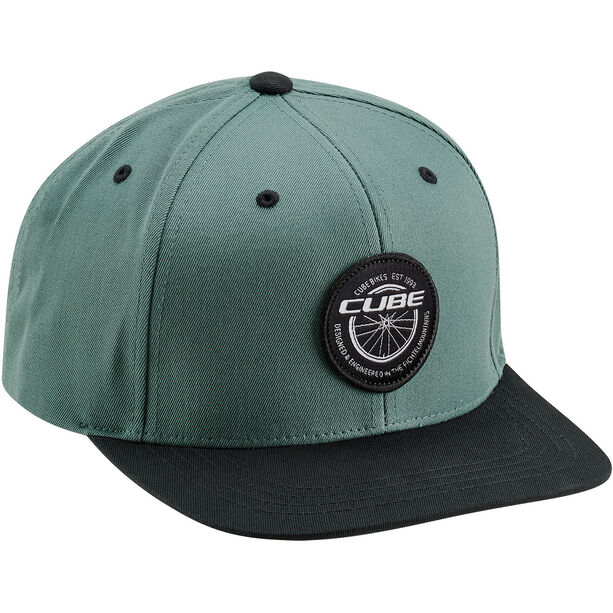 Cube Edge Freeride Cap green