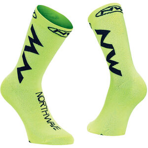Northwave Extreme Air Socks yellow fluo/black yellow fluo/black