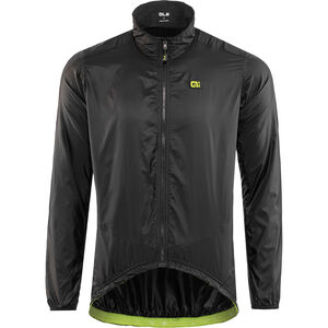 Alé Cycling Guscio Light Pack Jacket Herren black black