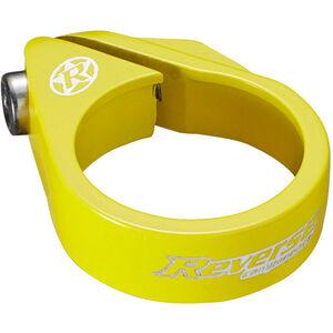 Reverse Bolt Sattelklemme Ø34,9mm neongelb