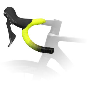 Fizik Vento Microtex Tacky Lenkerband 2mm yellow fluo/black yellow fluo/black