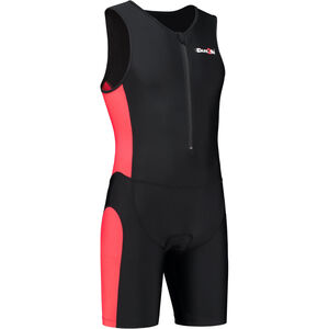 Dare2Tri Frontzip Trisuit Men black-red bei fahrrad.de Online