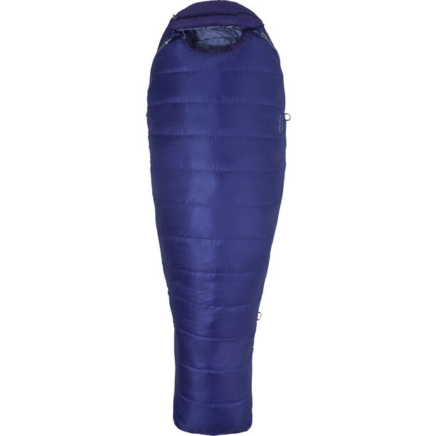 Marmot Ouray Sleeping Bag Long Damen electric purple/royal grape