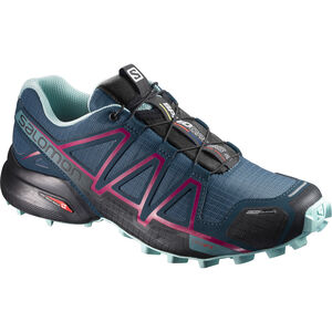 Salomon Speedcross 4 CS Shoes Women Mallard Blue/Reflecting Pond/Eggshell Blue