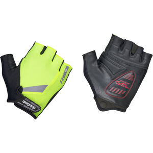GripGrab ProGel Hi-Vis Padded Short Finger Gloves fluo yellow fluo yellow