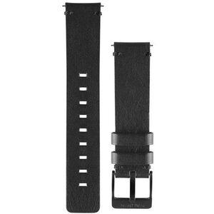 Garmin Schnellverschluss Lederband 20mm black black