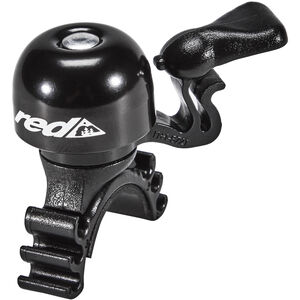 Red Cycling Products Mini Bell Easy Fix schwarz schwarz