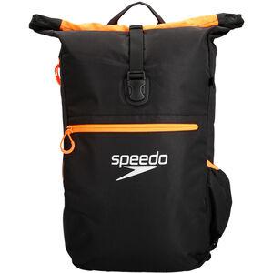 speedo Team III Backpack 30l black/fluo orange black/fluo orange