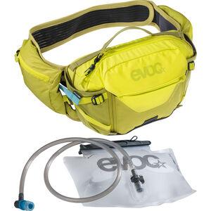 EVOC Hip Pack Pro 3l + Bladder 1,5l Sulphur/Moss Green