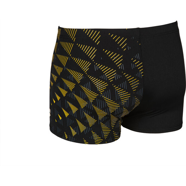 arena One Tunnel Vision Shorts Herren black/yellow star