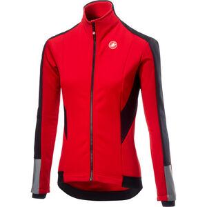 Castelli Mortirolo 3 Jacket Damen red red