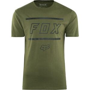 Fox Midway Airline Kurzarm T-Shirt Herren olive green olive green