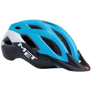 MET Crossover XL Helm cyan/black