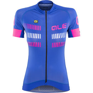 Alé Cycling Graphics PRR Strada Shortsleeve Jersey Damen blue light-fluo pink-white blue light-fluo pink-white
