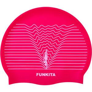 Funkita Silicone Swimming Cap Damen swim lines swim lines