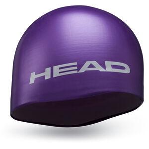 Head Silicone Moulded Cap violet violet