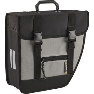 Basil Tour Single Seitentasche rechts schwarz/silber schwarz/silber