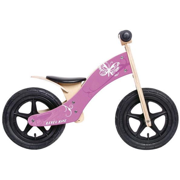 "Rebel Kidz Wood Air Lernlaufrad 12"" Schmetterling Kinder"