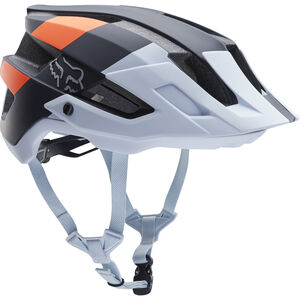 Fox Flux Gothik Helmet black/white/orange bei fahrrad.de Online
