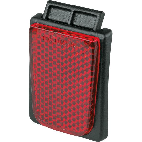 MonkeyLink ML-1 Magnetic Reflektor Schutzkappe hinten schwarz/rot