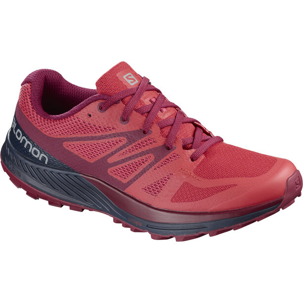 Salomon Sense Escape Shoes Women Hibiscus/Navy Blazer/Beet Red hibiscus/navy blazer/beet red