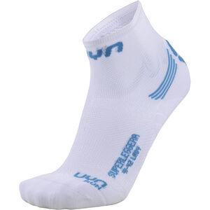 UYN Run Superleggera Socks Women White/Turquoise bei fahrrad.de Online