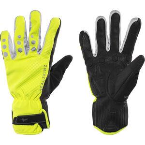 Sealskinz All Weather Cycle XP Handschuhe schwarz/gelb