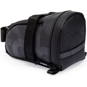 Fabric Contain Saddle Bag M black black