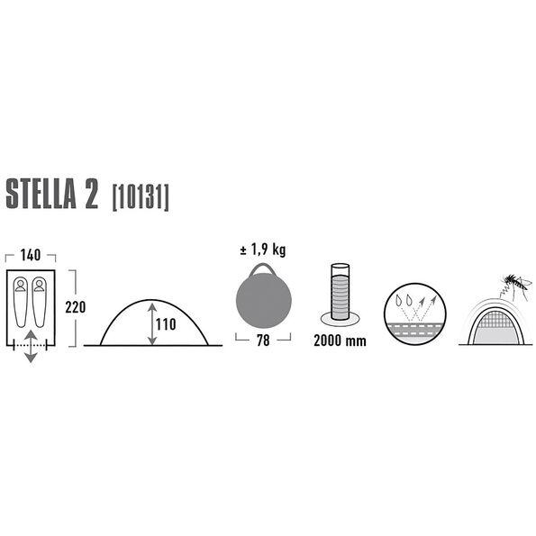 High Peak Stella 2 Tent
