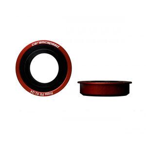 CeramicSpeed BB86 Tretlager Press-Fit Keramik Ø24mm red red