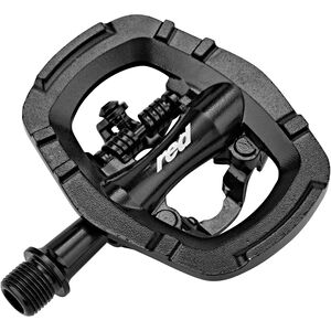 Red Cycling Products MTB Kombi Pedals SPD black black