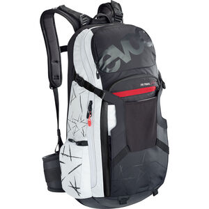 EVOC FR Trail Unlimited Protector Backpack 20l Damen black/white black/white