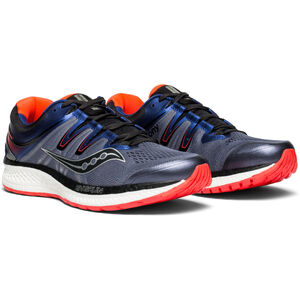 saucony Hurricane ISO 4 Shoes Men Grey/Blue/ViziRed bei fahrrad.de Online