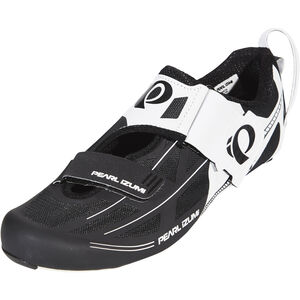 PEARL iZUMi Tri Fly Elite V6 Shoes Herren white/black white/black