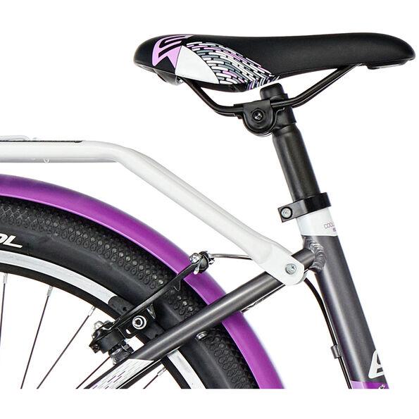 s'cool chiX 24 21-S alloy darkgrey/violett matt