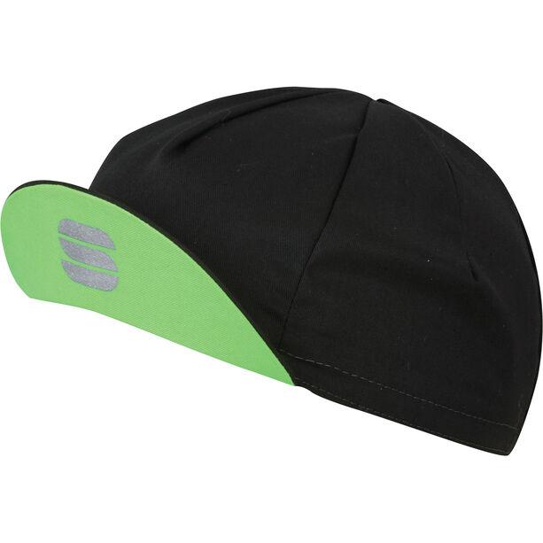Sportful Infinite Cap black/green fluo black/green fluo