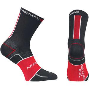 Northwave Ultralight Socks black/red black/red