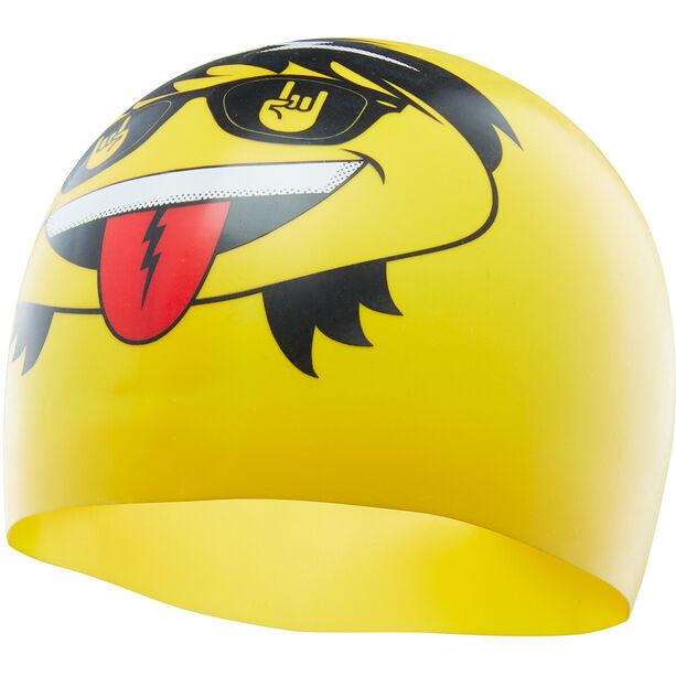 TYR Rocker Swim Cap yellow