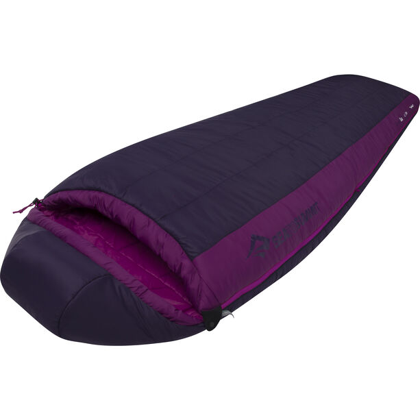 Sea to Summit Quest QuII Sleeping Bag Long Damen blackberry/grape