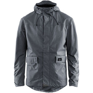 Craft Ride Precip Jacket Herren dark grey melange dark grey melange